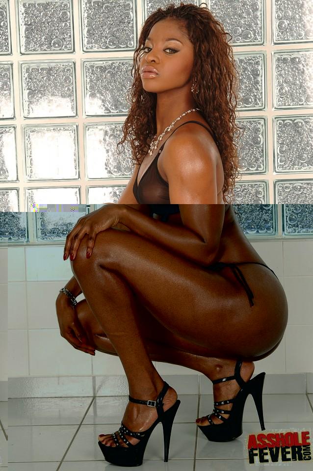 Ebony asshole